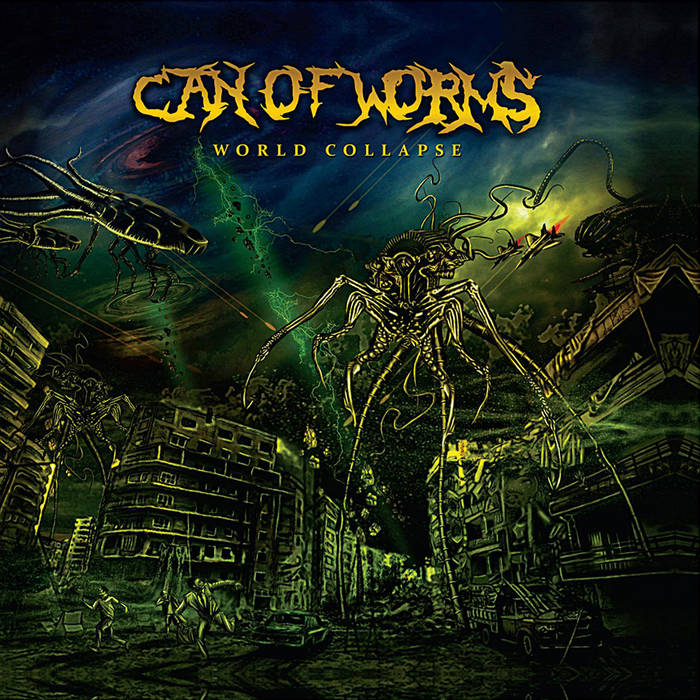 World collapse cover art