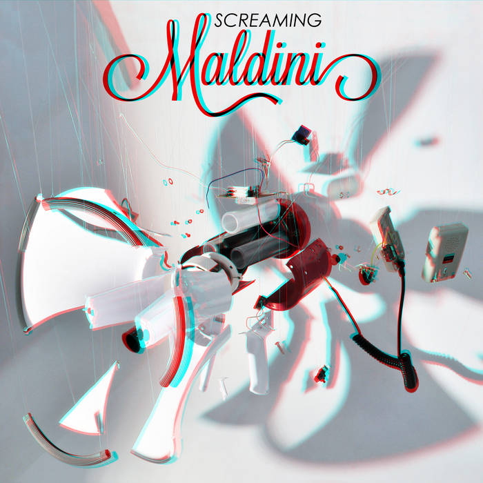 Screaming Maldini s/t cover art