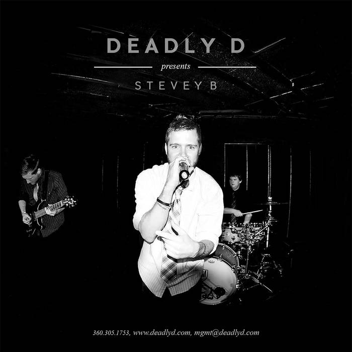 DEADLY D presents STEVEY B cover art