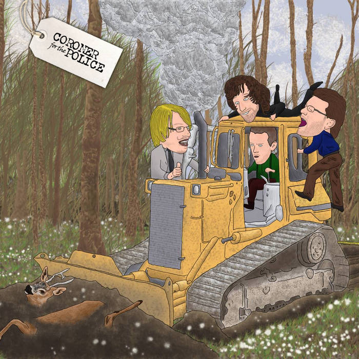 The Deer and the Bulldozer cover art