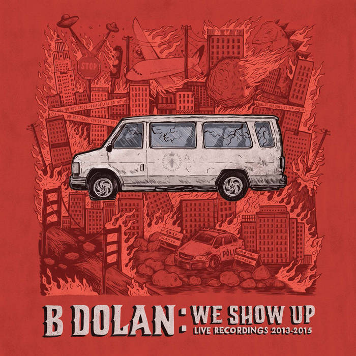 We Show Up: Live Recordings 2013-2015 cover art