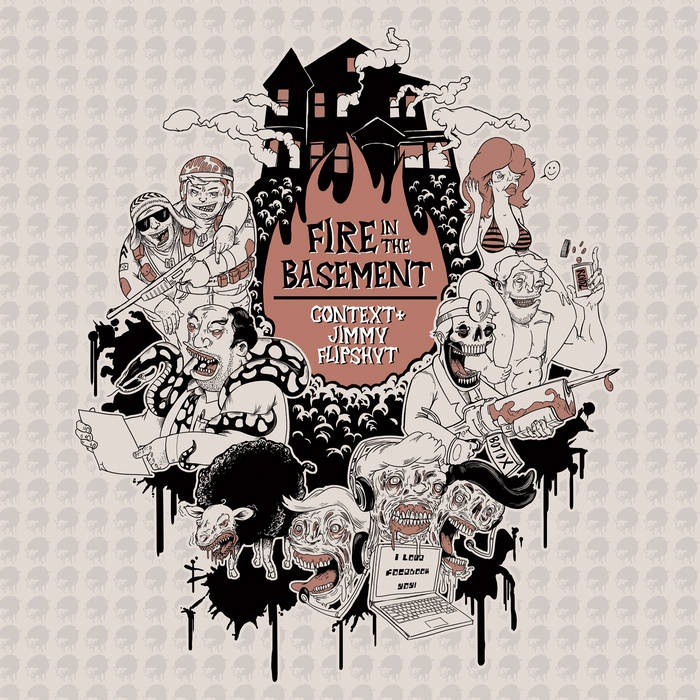 Fire In The Basement cover art
