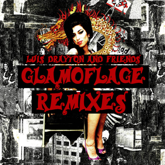 Glamoflage: Remixes cover art