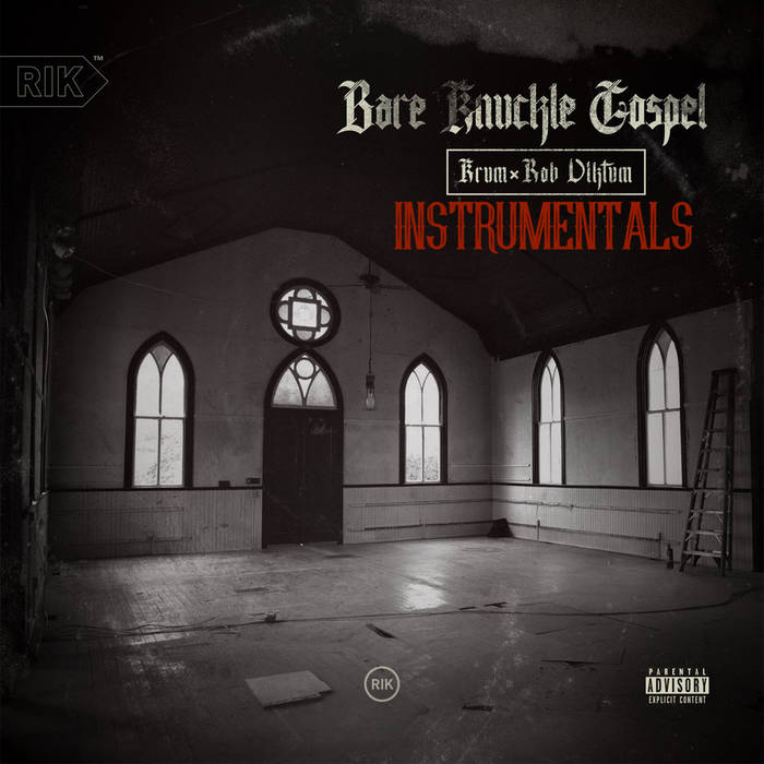 Bare Knuckle Gospel Instrumentals cover art