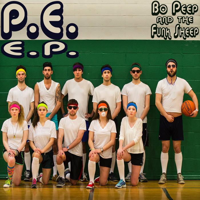 P.E. E.P. cover art