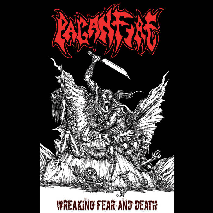 Wreaking Fear And Death cover art