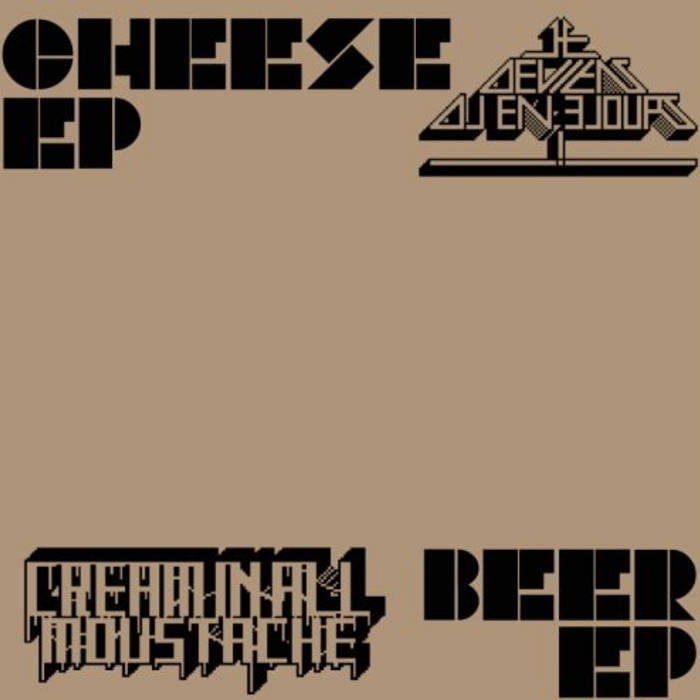 """Cheese EP"" / ""Beer EP"" cover art"