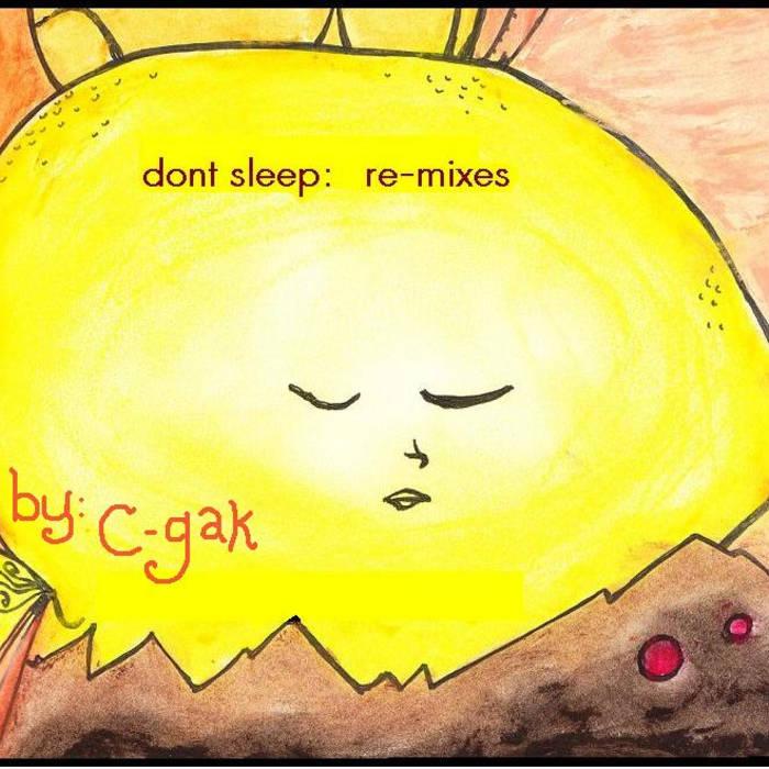 don't sleep: re-mixes cover art