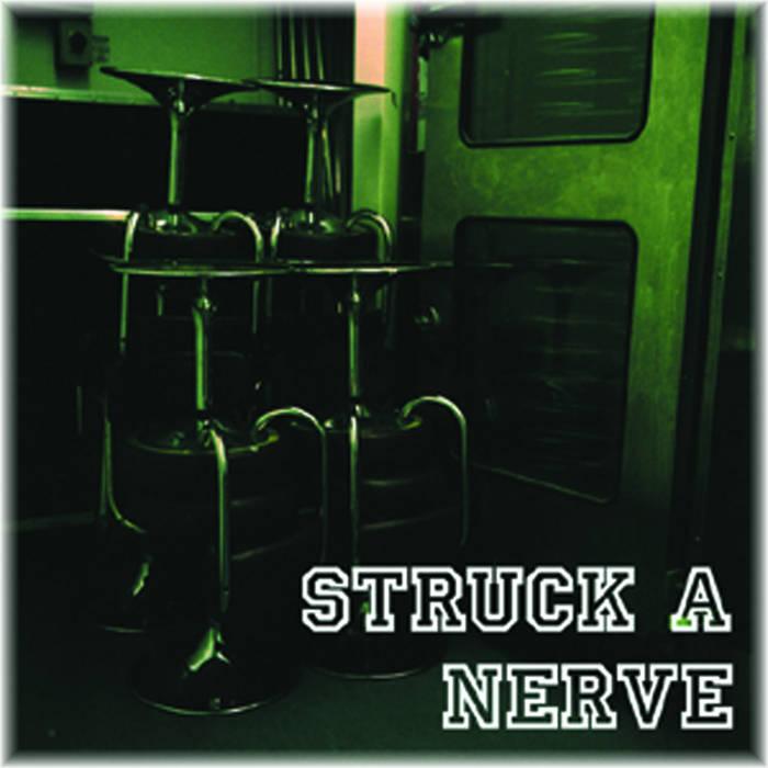 "STRUCK A NERVE - 7"" (SEVEN15) cover art"