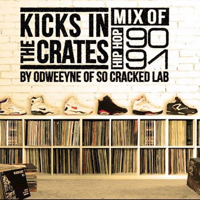 Kicks in the Crates Vol.1 - 1990/1991 - SUPA & PHAT Side cover art