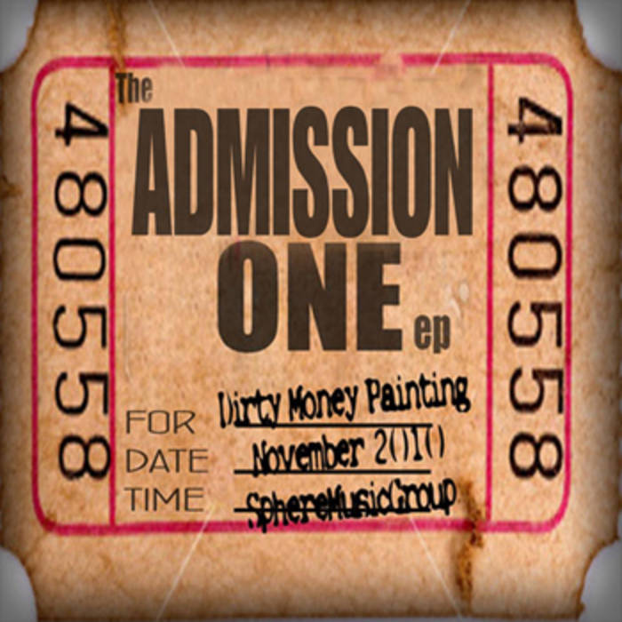 The Admission One EP cover art