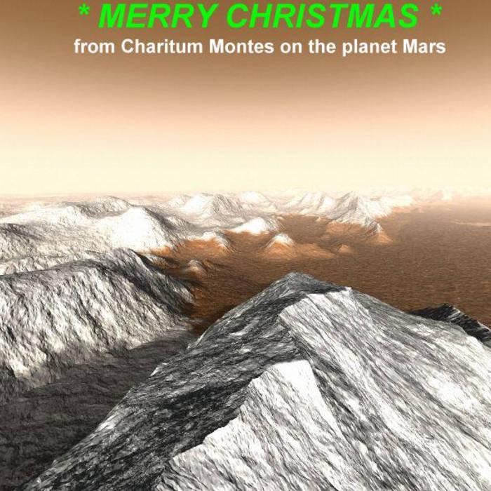 Martian Christmas cover art