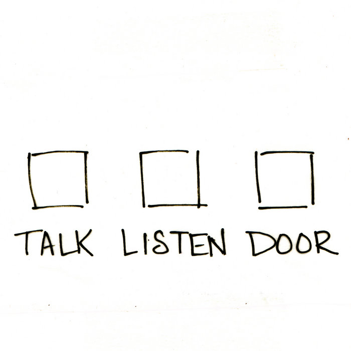 Talk Listen Door cover art
