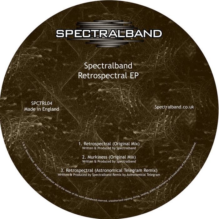 Retrospectral EP cover art
