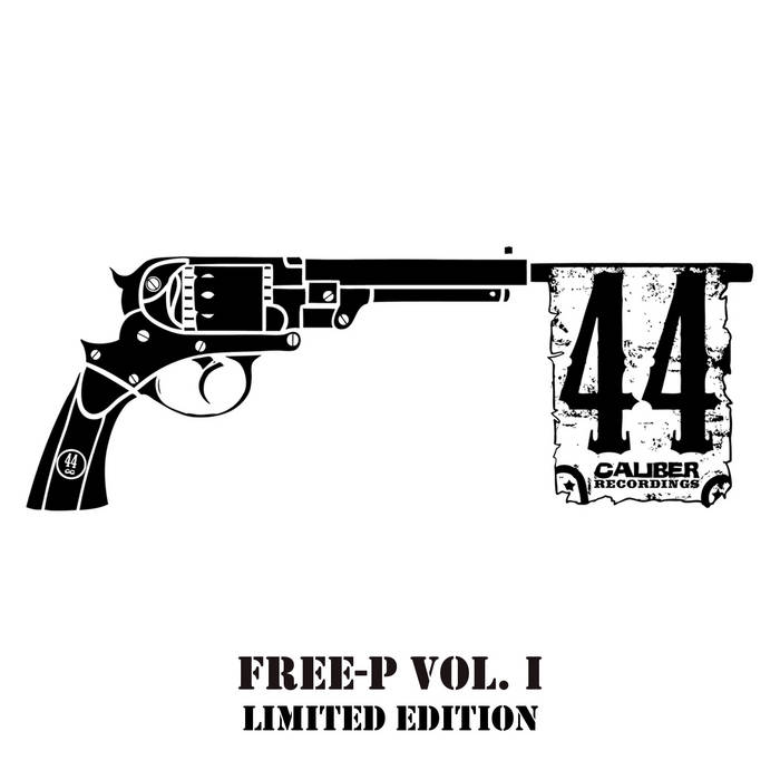 44 Caliber Recordings FREE-P Vol. 1 cover art