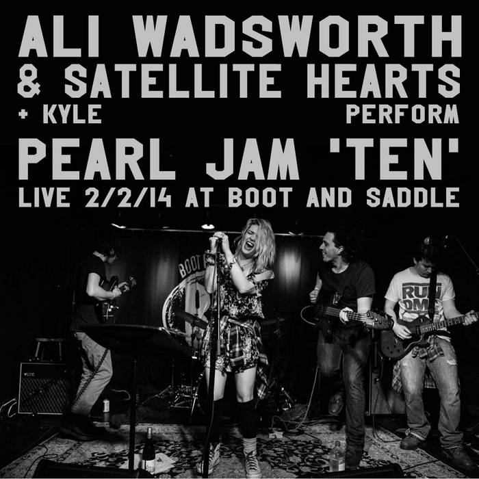 PEARL JAM TEN LIVE cover art