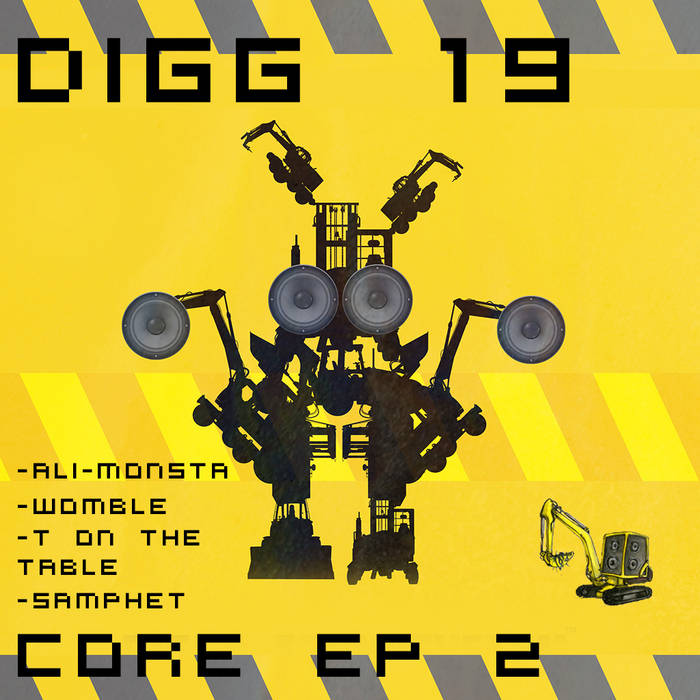 DIGG 19 - CORE EP No 2. cover art
