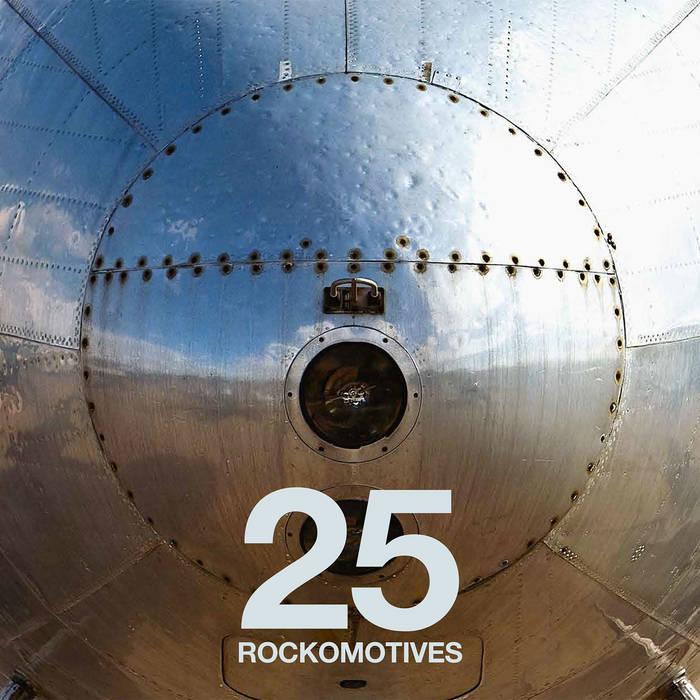 Rockomotives Festival 25 ans - 3Lp's cover art