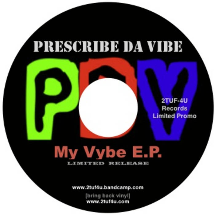 """""""My Vybe E.P. cover art"""