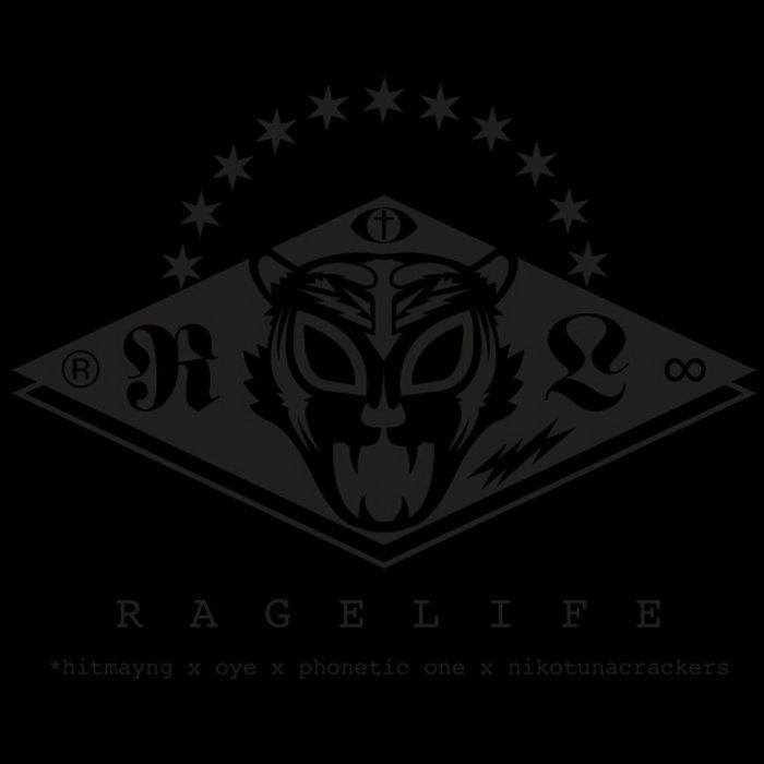 RAGELIFE LP cover art