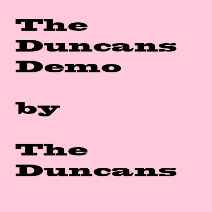 The Duncans Demo cover art