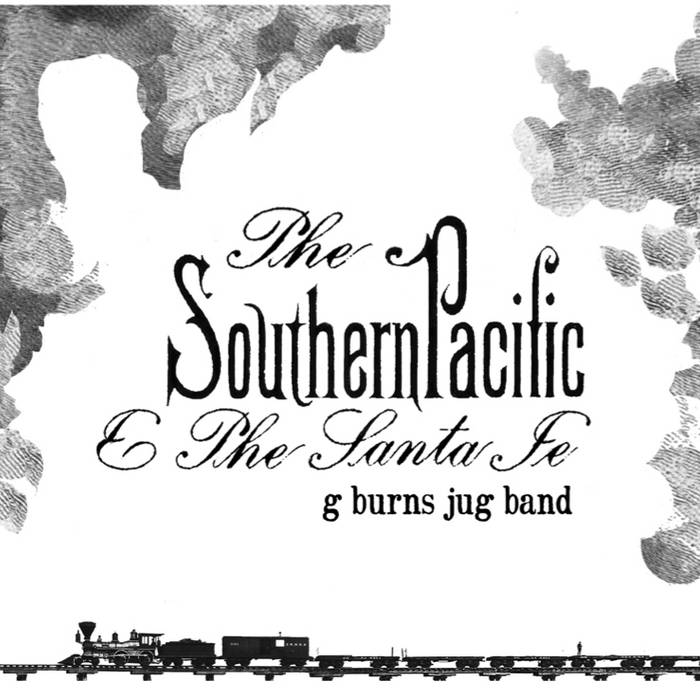 The Southern Pacific & The Santa Fe cover art