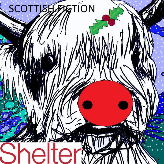 Scottish Fiction Shelter Christmas EP cover art