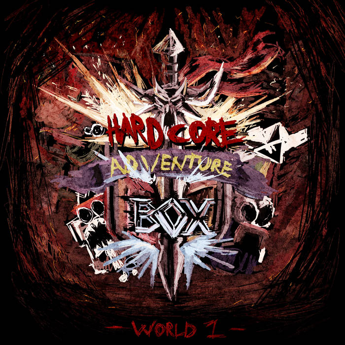 Hardcore Adventure Box: World 1 cover art