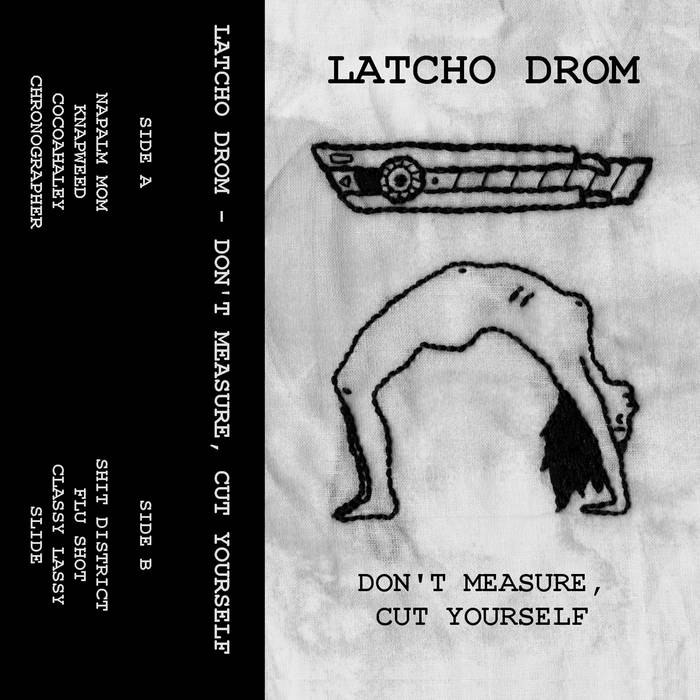 Don't Measure, Cut Yourself cover art