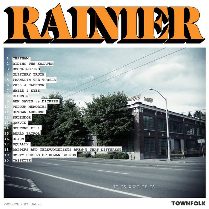 RAINIER cover art