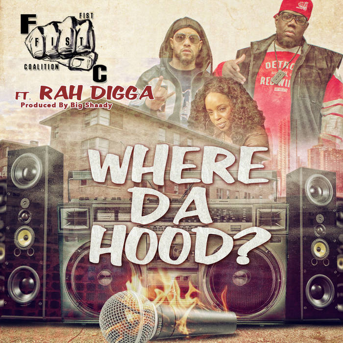 Where da Hood (feat. Rah Digga) cover art
