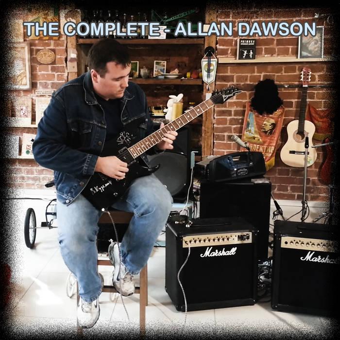 """""""The Complete Allan Dawson"""" Deluxe Edition Digital Mega Album cover art"""
