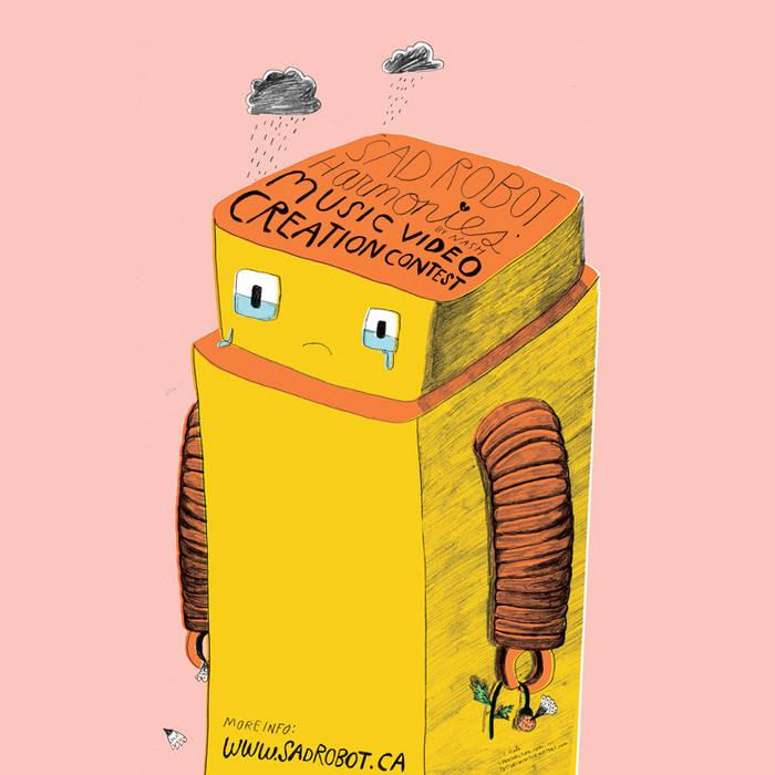Sad Robot Harmonies cover art