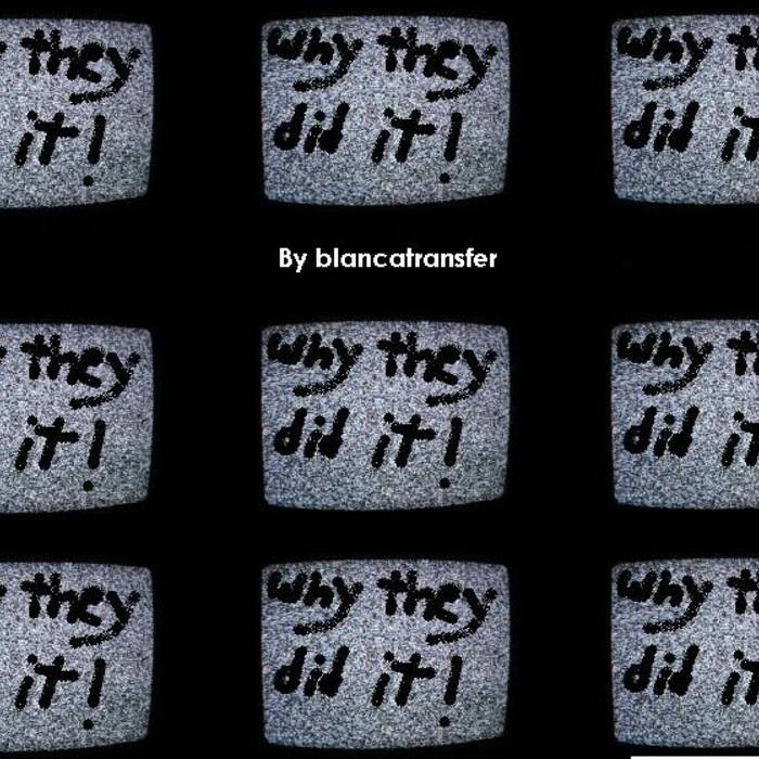 Why They Did It (demo) cover art