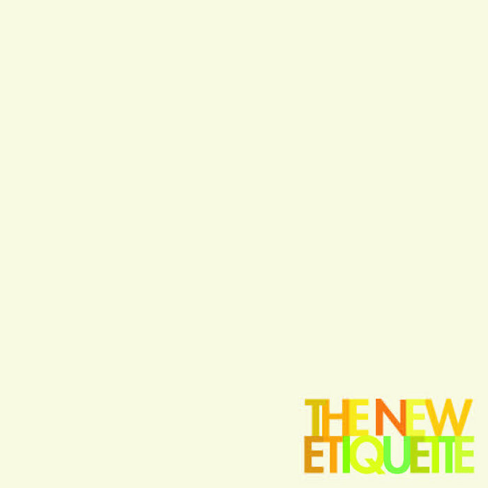 The New Etiquette cover art
