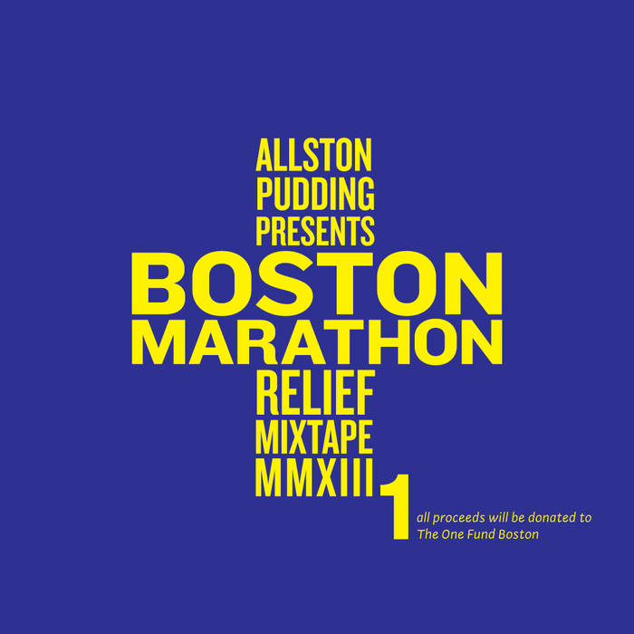 Boston Marathon Relief Mixtape cover art