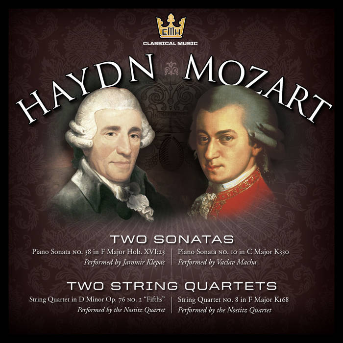 Mozart and Haydn Two by Two cover art