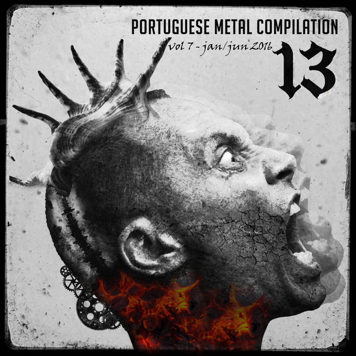 13 Portuguese Metal Compilation Vol.7 cover art