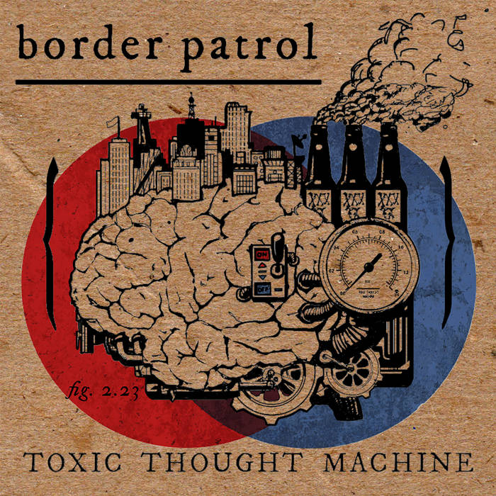 Toxic Thought Machine cover art