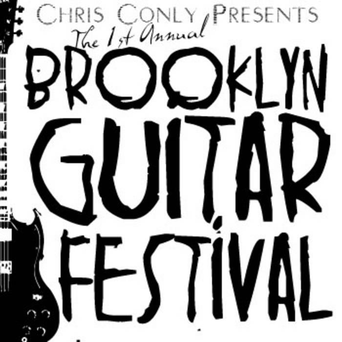 Brooklyn Guitar Festival 2010 cover art