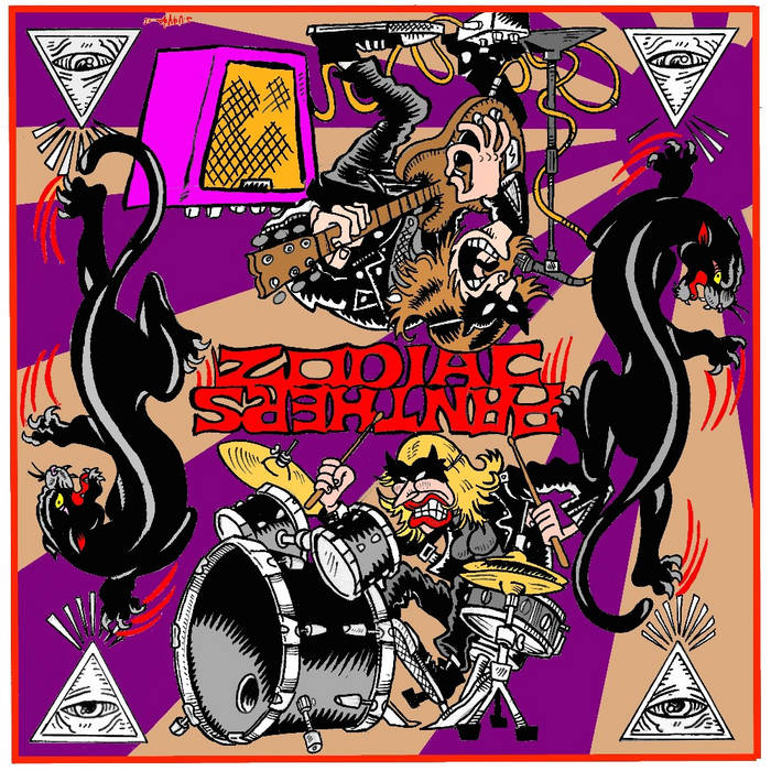 Zodiac Panthers cover art