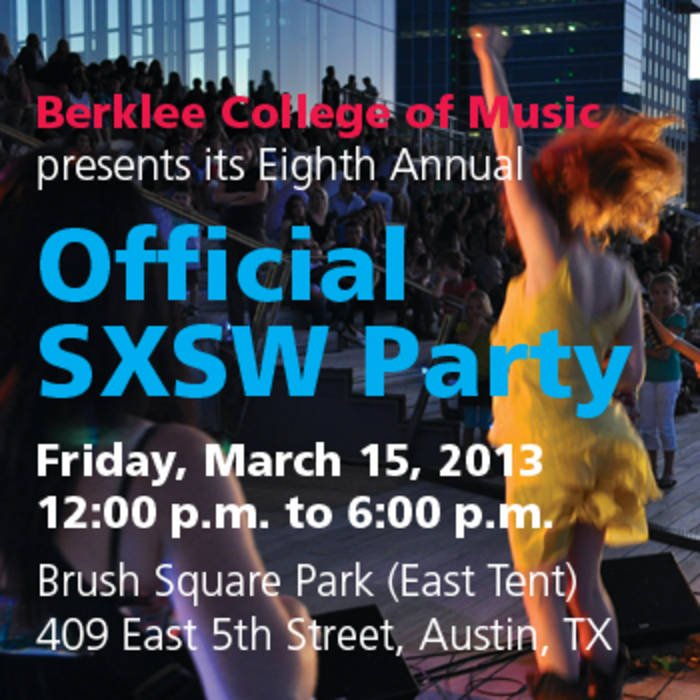 Berklee SXSW 2013 Party Sampler cover art
