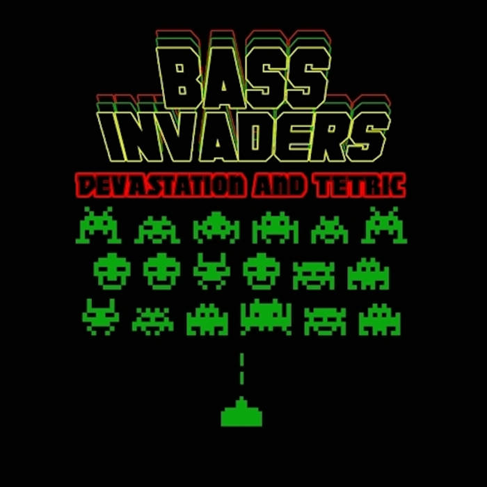Bass Invaders cover art