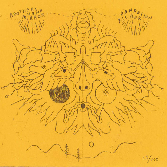 dandelion kicker e.p. cover art