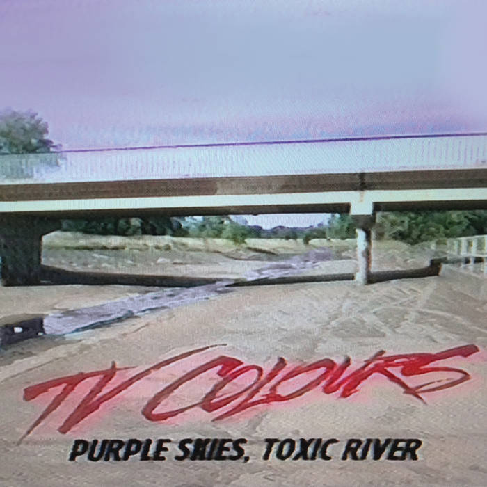 Purple Skies, Toxic River cover art