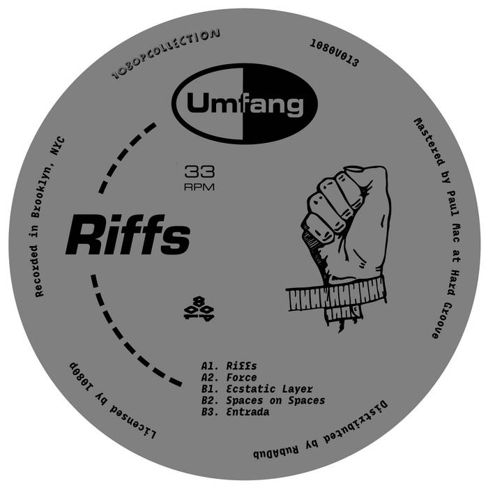 """Riffs"" 12 cover art"