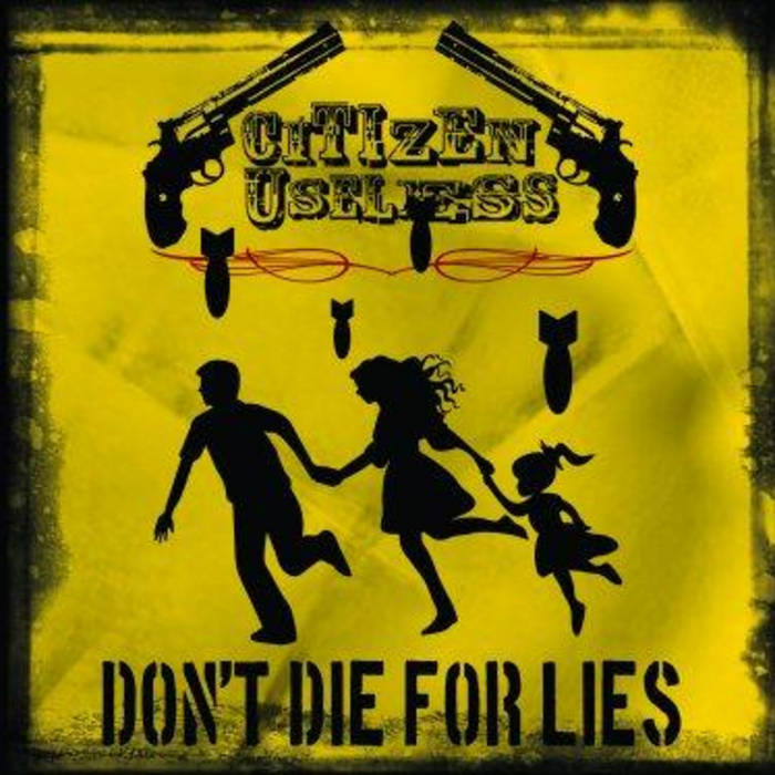Don't Die For Lies cover art
