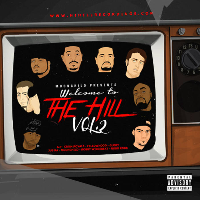 Moonchild Presents: Welcome To The Hill Vol. 2 cover art