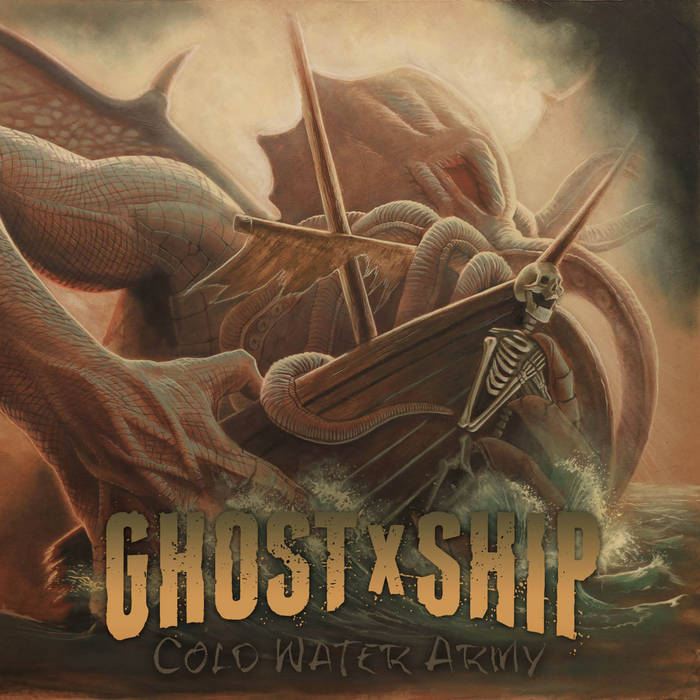 "GhostxShip ""Cold Water Army"" cover art"