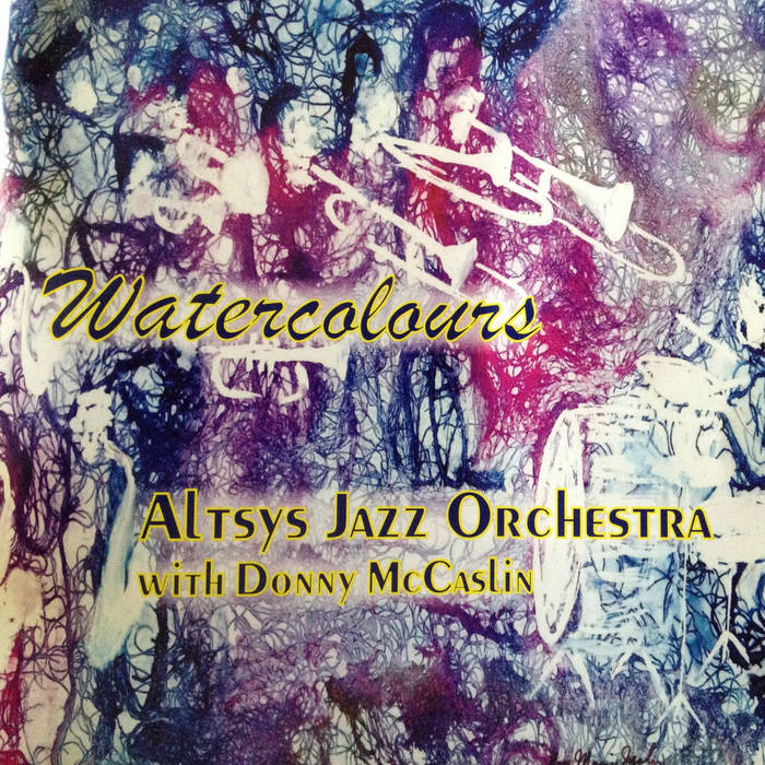 Altsys Jazz Orchestra Watercolours cover art